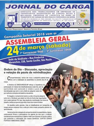 Jornal do Carga – Março 2018